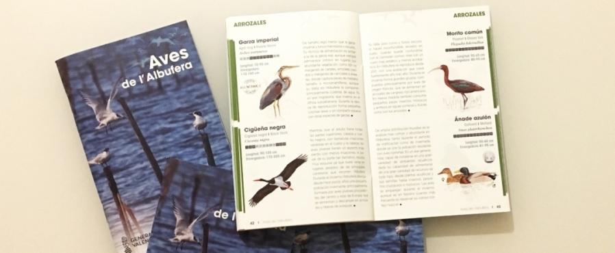 Una guía de aves para descubrir L'Albufera